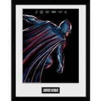 Justice League Movie Batman Framed Photograph 12 x 16 Inch - Batman Gifts