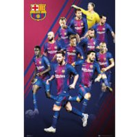 Barcelona Players 17/18 Maxi Poster 61 x 91.5cm