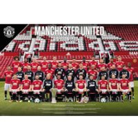 Manchester United Team Photo 17/18 Maxi Poster 61 x 91.5cm - Manchester United Gifts