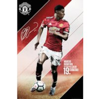 Manchester United Rashford 17/18 Maxi Poster 61 x 91.5cm - Manchester United Gifts