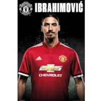 Manchester United Zlatan Stand 17/18 Maxi Poster 61 x 91.5cm - Manchester United Gifts
