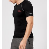 Superdry Sport Mens Athletic Panel Short Sleeve T-Shirt - Black - M - Black