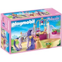 Playmobil Princess Castle Stable with Horse Mane to Comb (6855) - Playmobil Gifts