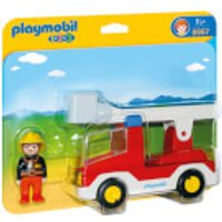 Playmobil 1.2.3 Ladder Unit Fire Truck (6967)