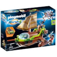 Playmobil Super 4 Floating Pirate Chameleon with Ruby (9000)