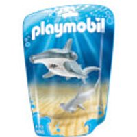 Playmobil Family Fun Hammerhead Shark with Baby (9065) - Fun Gifts