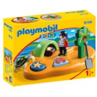 Playmobil 1.2.3 Pirate Island with Shape Sorting Function (9119) - Playmobil Gifts