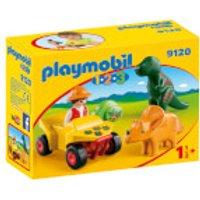 Playmobil 1.2.3 Explorer with Dinos (9120)