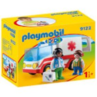 Playmobil 1.2.3 Rescue Ambulance (9122) - Playmobil Gifts