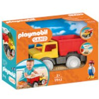 Playmobil Sand Dump Truck with Removable Bucket (9142) - Playmobil Gifts
