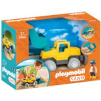 Playmobil Sand Excavator with Removable Shovel (9145) - Playmobil Gifts
