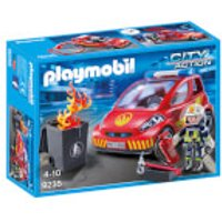 Playmobil City Action Firefighter with Car (9235) - Playmobil Gifts
