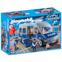 Playmobil City Action Policemen with Van with Flashing Lights and Sound (9236) - Playmobil Gifts