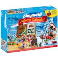 Playmobil Advent Calendar 'Santa's Workshop' with Electronic Lantern (9264) - Playmobil Gifts