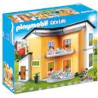 Playmobil City Life Modern House with Working Doorbell (9266) - Life Gifts