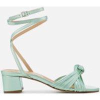 Rebecca Minkoff Rebecca Minkoff Women's Rosalinda Block Heeled Sandals - Green - UK 6 - Green