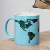 Global Warming Heat Changing Mug - Blue - Warming Gifts