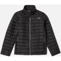 The North Face Boys' Thermoball Full Zip Jacket - TNF Black - 7-8 years/S - Black
