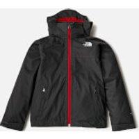 The North Face Boys Stormy Day Rain Jacket - Asphalt Grey - 6 years/XS - Grey