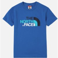 The North Face Boys Short Sleeve T-Shirt - Turkish Sea - 7-8 years/S - Blue