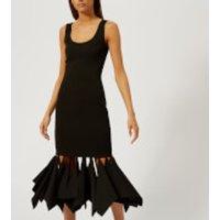 Christopher Kane Women's Rag Hem Bodycon Dress - Black - IT 42/UK 10 - Black