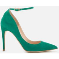 Rupert-Sanderson-Womens-Balance-Suede-Court-Shoes-Musk-UK-5-Green