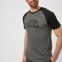 The North Face Men's Raglan Easy Short Sleeve T-Shirt - TNF Medium Grey Heather - S