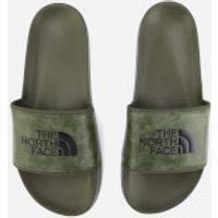 The North Face Mens Base Camp II Slide Sandals - English Green Tropical Camo/English Green - UK 8 - Green