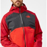 The North Face Mens Stratos Jacket - Rage Red/Asphalt Grey/High Risk Red - XL - Red