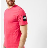 The North Face Men's Short Sleeve Fine 2 T-Shirt - Raspberry Red - M - Red