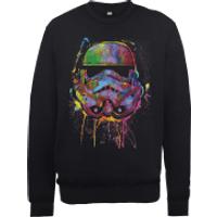 Star Wars Paint Splat Stormtrooper Sweatshirt - Black - XXL - Black