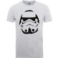 Star Wars Paint Spray Stormtrooper T-Shirt - Grey - L - Grey