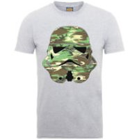Star Wars Stormtrooper Camo T-Shirt - Grey - L - Grey - Camo Gifts