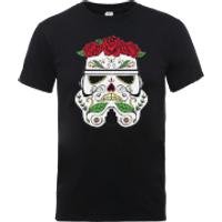 Star Wars Day Of The Dead Stormtrooper T-Shirt - Black - XXL - Black