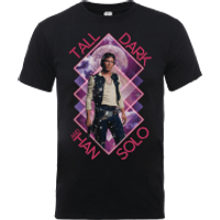 Star Wars Han Solo Tall Dark T-Shirt - Black - M - Black