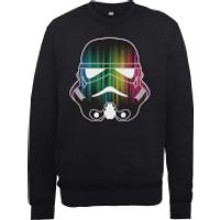 Star Wars Vertical Lights Stormtrooper Sweatshirt - Black - M - Black
