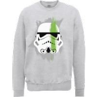 Star Wars Paintstroke Stormtrooper Sweatshirt - Grey - XL - Grey