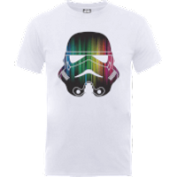 Star Wars Vertical Lights Stormtrooper T-Shirt - White - L - White