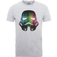 Star Wars Vertical Lights Stormtrooper T-Shirt - Grey - M - Grey - Lights Gifts