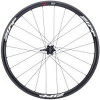 Zipp 202 Firecrest Carbon Clincher Tubeless Disc Brake Front Wheel - Black Decals