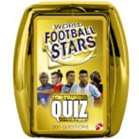 Top Trumps Quiz Game - World Football Stars Edition - Football Gifts