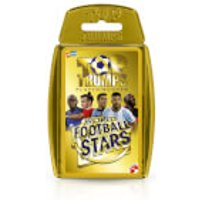 Top Trumps Card Game - World Football Stars Gold Edition - Football Gifts
