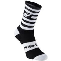 Morvelo Series Stripe Socks - S/M - White