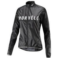 Morvelo Womens Aegis Packable Windproof Jacket - Stealth - L - Stealth