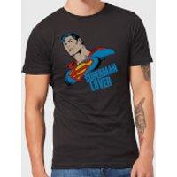DC Comics Superman Lover T-Shirt - Black - L - Black