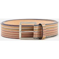 Paul Smith Accessories Men's Multistripe Belt - Multi - W32 - Multi