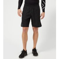 2XU Mens Training 2 in 1 Compression 9 Inch Shorts - Black/Silver - M - Black/Silver