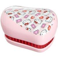 Tangle Teezer Compact Styler Hairbrush - Hello Kitty Candy Stripes