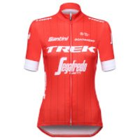 Santini Trek-Segafredo 18 Women's Classic Replica Jersey - Red - S - Red