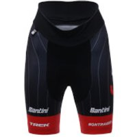 Santini Trek-Segafredo 18 Women's Prime Replica Shorts - Black/Red - L - Black/Red